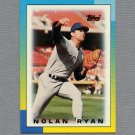 1990 Topps Mini Leaders Baseball #39 Nolan Ryan - Texas Rangers NM-M