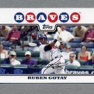 2008 Topps Update Baseball #UH319 Ruben Gotay - Atlanta Braves