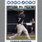 2008 Topps Update Baseball #UH284 Curtis Thigpen - Toronto Blue Jays