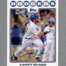 2008 Topps Update Baseball #UH257 Casey Blake - Los Angeles Dodgers