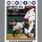 2008 Topps Update Baseball #UH247 Scott Podsednik - Colorado Rockies