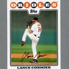 2008 Topps Update Baseball #UH199 Lance Cormier - Baltimore Orioles