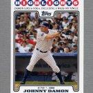 2008 Topps Update Baseball #UH179 Johnny Damon HL - New York Yankees