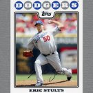 2008 Topps Update Baseball #UH162 Eric Stults - Los Angeles Dodgers