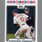2008 Topps Update Baseball #UH161 Asdrubal Cabrera HL - Cleveland Indians