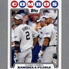 2008 Topps Update Baseball #UH136 Hanley Ramirez / Albert Pujols