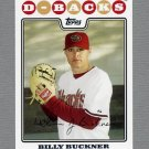 2008 Topps Update Baseball #UH091 Billy Buckner - Arizona Diamondbacks