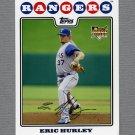 2008 Topps Update Baseball #UH045 Eric Hurley RC - Texas Rangers