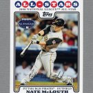 2008 Topps Update Baseball #UH034 Nate McLouth AS - Pittsburgh Pirates