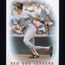 1986 Topps Baseball #396 Dwight Evans / Boston Red Sox Leaders