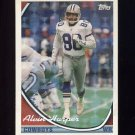 1994 Topps Special Effects Football #650 Alvin Harper - Dallas Cowboys