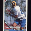 1994 Topps Special Effects Football #645 Greg McMurtry - Los Angeles Rams