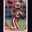 1994 Topps Special Effects Football #384 John Taylor - San Francisco 49ers