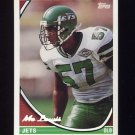 1994 Topps Special Effects Football #247 Mo Lewis - New York Jets