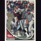 1994 Topps Special Effects Football #240 Tim Brown - Los Angeles Raiders