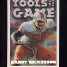 1994 Topps Special Effects Football #198 Hardy Nickerson TOG - Tampa Bay Buccaneers
