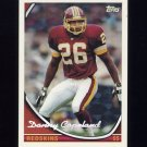 1994 Topps Special Effects Football #114 Danny Copeland - Washington Redskins