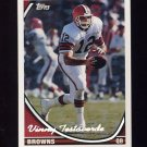 1994 Topps Special Effects Football #071 Vinny Testaverde - Cleveland Browns