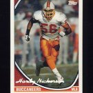 1994 Topps Special Effects Football #065 Hardy Nickerson - Tampa Bay Buccaneers