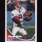 1994 Topps Special Effects Football #064 Chris Mohr - Buffalo Bills