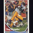 1994 Topps Special Effects Football #025 Troy Drayton - Los Angeles Rams