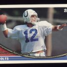 1994 Topps Football #610 Jim Harbaugh - Indianapolis Colts