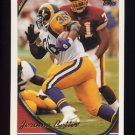 1994 Topps Football #100 Jerome Bettis - Los Angeles Rams