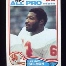 1982 Topps Football #505 Lee Roy Selmon - Tampa Bay Buccaneers