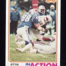 1982 Topps Football #464 Ottis Anderson IA - St. Louis Cardinals