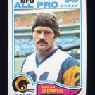 1982 Topps Football #371 Nolan Cromwell - Los Angeles Rams