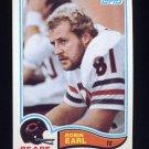 1982 Topps Football #294 Robin Earl - Chicago Bears