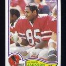 1982 Topps Football #279 Alfred Jackson - Atlanta Falcons