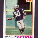 1982 Topps Football #250 Steve Largent IA - Seattle Seahawks