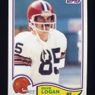 1982 Topps Football #066 Dave Logan - Cleveland Browns