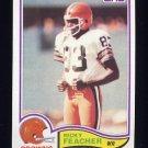1982 Topps Football #063 Ricky Feacher - Cleveland Browns