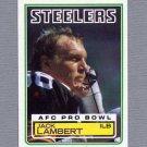 1983 Topps Football #363 Jack Lambert - Pittsburgh Steelers ExMt