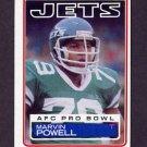1983 Topps Football #350 Marvin Powell - New York Jets