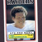 1983 Topps Football #302 Ted Hendricks - Los Angeles Raiders
