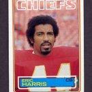 1983 Topps Football #287 Eric Harris - Kansas City Chiefs