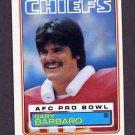 1983 Topps Football #283 Gary Barbaro - Kansas City Chiefs