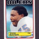 1983 Topps Football #273 Jesse Baker - Houston Oilers