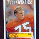 1983 Topps Football #263 Rulon Jones RC - Denver Broncos