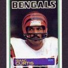1983 Topps Football #236 Isaac Curtis - Cincinnati Bengals
