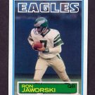 1983 Topps Football #142 Ron Jaworski - Philadelphia Eagles
