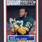 1983 Topps Football #078 Mike Douglass - Green Bay Packers