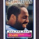 1983 Topps Football #049 Ed Too Tall Jones - Dallas Cowboys