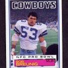 1983 Topps Football #043 Bob Breunig - Dallas Cowboys