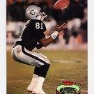 1992 Stadium Club Football #515 Tim Brown - Los Angeles Raiders