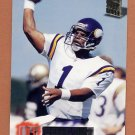 1994 Stadium Club Football #484 Warren Moon - Minnesota Vikings