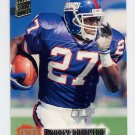 1994 Stadium Club Football #470 Rodney Hampton - New York Giants